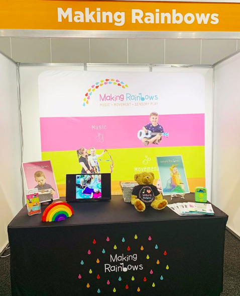 Making Rainbows at the Sydney Franchising Expo 2019
